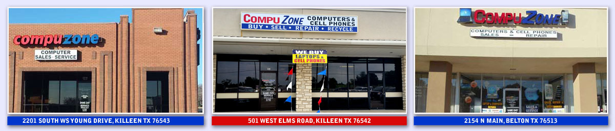 CompuZone Computers & Cell Phones - Killeen & Belton